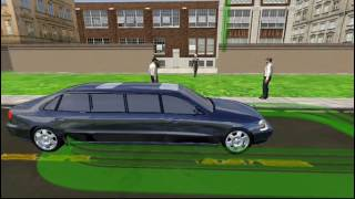 Big City Limo Car Driving | Best Android gameplay