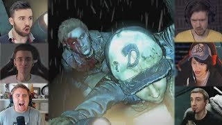 'Реакции Летсплейщиков' на Ходячую за Спиной Клементины изThe Walking Dead: The Final Season