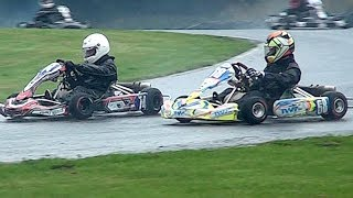 The Karting Class won by Jenson Button... Super 1 British Karting Champs. 2018 Rd 8, Junior TKM.