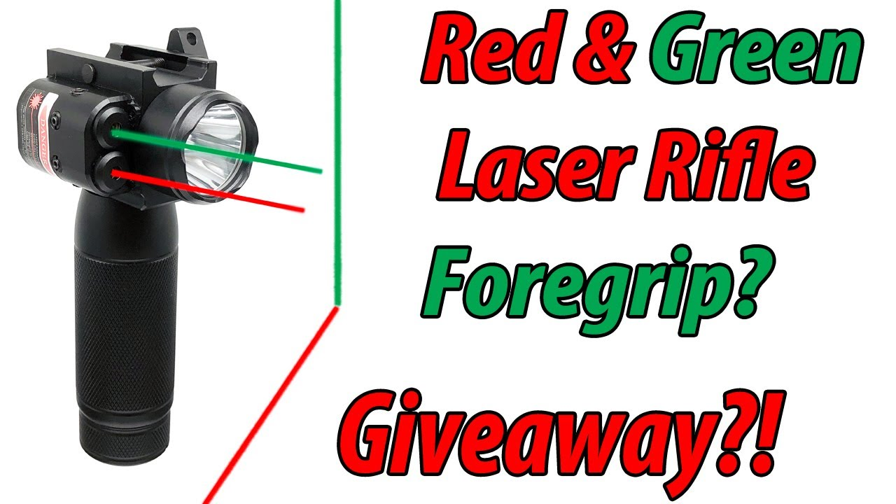 HiLight's Rifle Foregrip Dual Laser Giveaway!