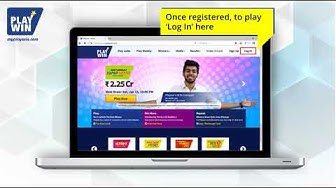 How to Register on Playwin website & mobile app