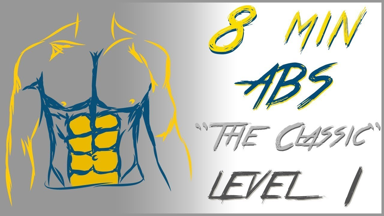 8 Min Home Abs Workout Level 1