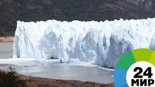 Ледники умеют петь: ученые записали на пленку уникальное явление - МИР 24