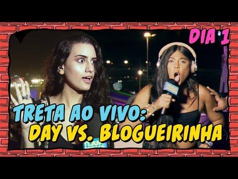 TRETA: Day vs Blogueirinha e cover de SHALLOW  O MELHOR MOMENTO DIA 1  LollaBR 2019  Multishow