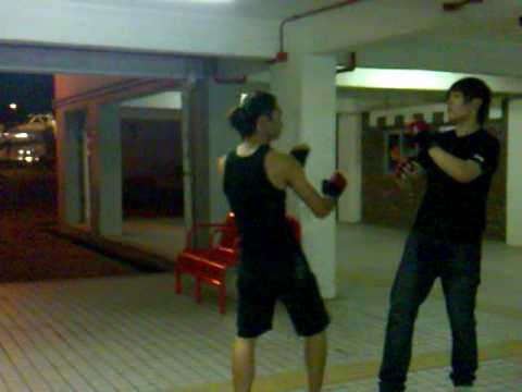 Alain Law Wing Chun Kung Fu-Students Basic FreeFight Practice