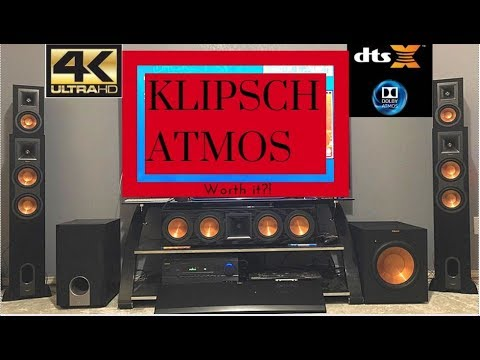yamaha rx v681 klipsch reference premiere atmos speakers. Black Bedroom Furniture Sets. Home Design Ideas