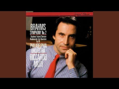 Brahms: Symphony No. 2 in D major, Op. 73 - 1. Allegro non troppo