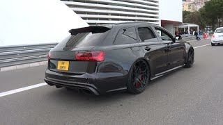 740HP Audi RS6 C7 - Brutal Milltek Exhaust & INSANE REVS!