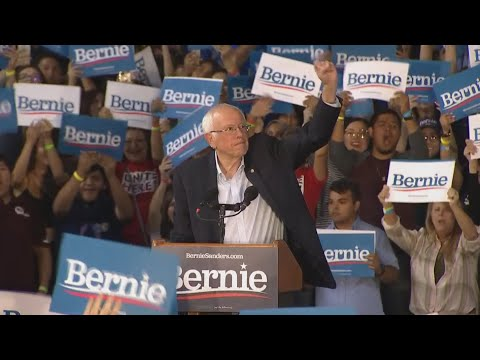 Bernie Sanders tries to appeal to Warren supporters during rally in Phoenix