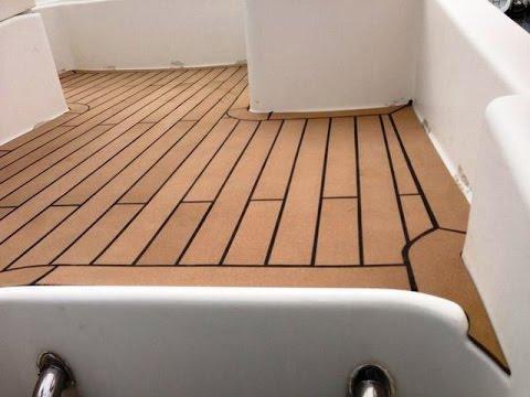 Boat Floor Replacement Materials
