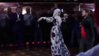 Рамзан Кадыров танцует лезгинку на Свадьбе Луизы и Нажуда  Чеченская Свадьба 2015