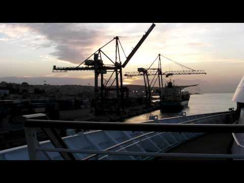 docking at the port of lisbon 2009