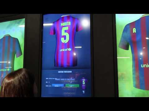 Ingenico Group transform consumers' purchasing experience at the FC Barcelona Megastore