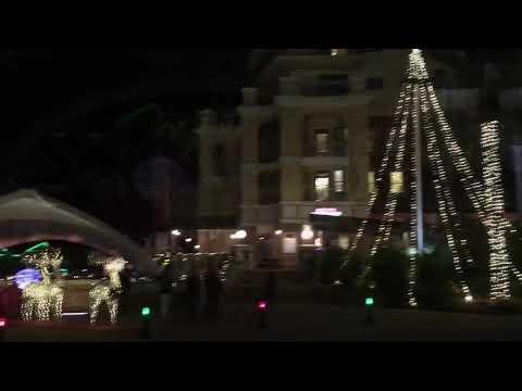 iPhone X Christmas Time in Harbor Boardwalk Destin Florida