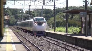 東北本線 高久駅 E657系K12編成 KY入場通過 2018.09.19