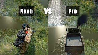 Snowrunner Pro vs Noob