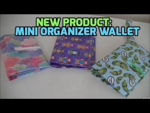 New Product:Business/Organizer Wallet!
