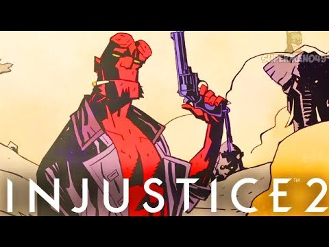 "Thumbnail: Injustice 2: ""Hellboy"" Ending! Classic Ladder Walkthrough - Injustice 2 Hellboy Story Ending"