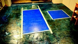 видео Наливные полы и бетонные полы
