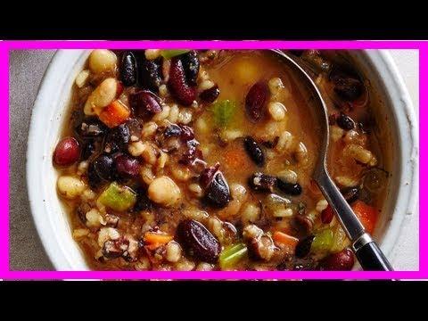 Slow-Cooker Southwestern Bean Soup Recipe