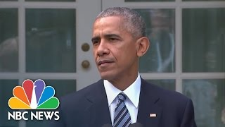 President Obama Stresses Team Mentality: 'We Are Americans First' | NBC News