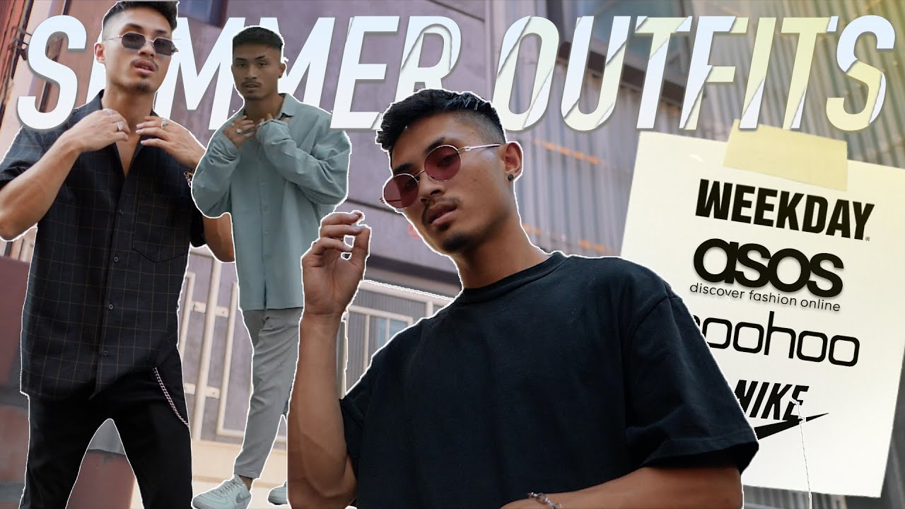 [VIDEO] - TOP 3 SOMMER OUTFITS unter 200 EURO ? | Summer Lookbook 2019 ☀️| bhpdao 2