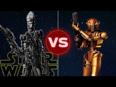 HK-47 vs IG-88, Battle of the Droids! Star Wars: Who Would Win