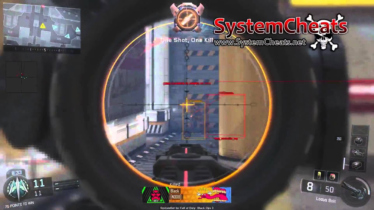 hack call of duty black ops 2 aimbot