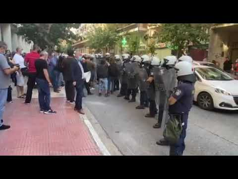 Newpost.gr - Διμαρτυρία ΠΟΕΔΗΝ έξω από το υπ. Υγείας 3