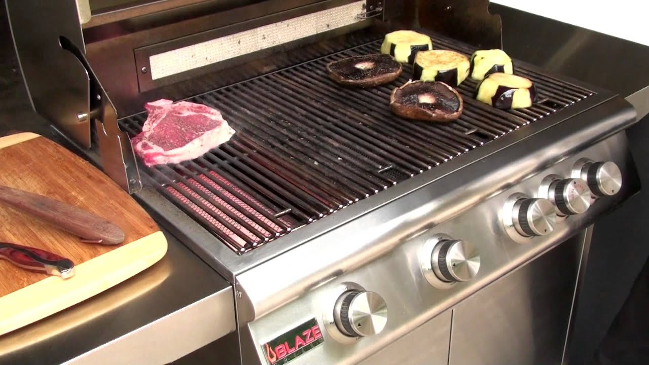 Blaze Grill Test Blazegrills Com Youtube