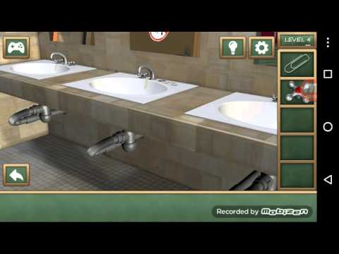 Escape The Bathroom Level 4 high school escape level 4 walkthrough - youtube