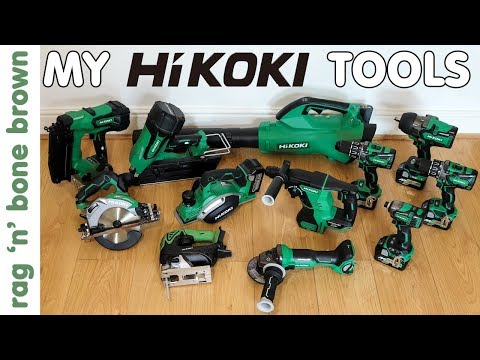 My HiKOKI (previously Hitachi) cordless tools