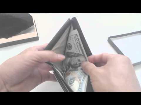 Dante RFID Blocking Bi-fold Leather Wallet Review