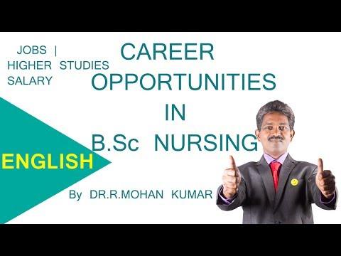 CAREERS IN B.SC NURSING – M.Sc,P.Hd,Hospitals,Job Opportunities,Salary Package