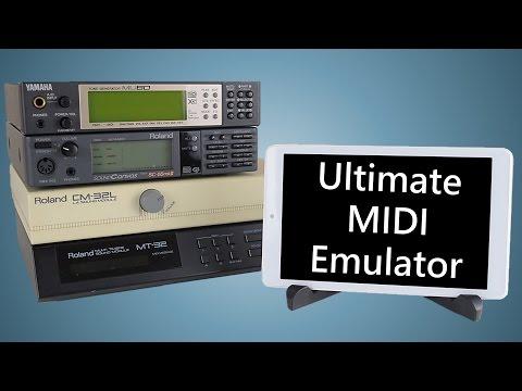 Ultimate MIDI Emulator for DOS Games Roland MT-32 CM-32L SC-55 Yamaha SF2 SoundFont