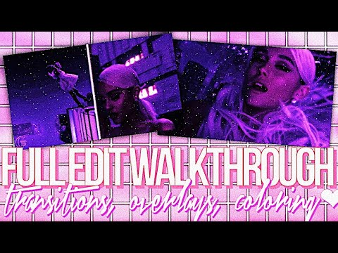 FULL EDIT WALKTHROUGH ON VIDEOSTAR: STEP BY STEP♡