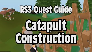 Rs3: Catapult Construction Quest Guide - Runescape