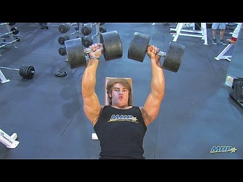 IFBB Men's Physique Pro Jeff Seid's Best Chest Building Exercise! Incline Bench Workout Tips