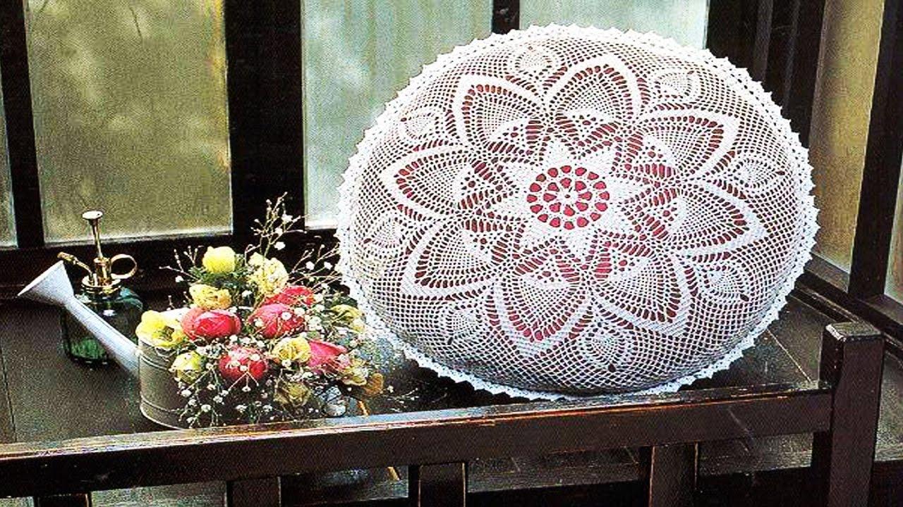 Cojines tejidos en crochet para living y habitaci n - Cojin de crochet ...