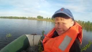сибирская рыбалка . мы с Мишей