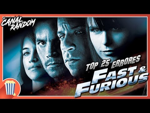 25 Errores de Fast and Furious TOP Errores de la Saga Rápidos y Furiosos, A Todo Gas !!!