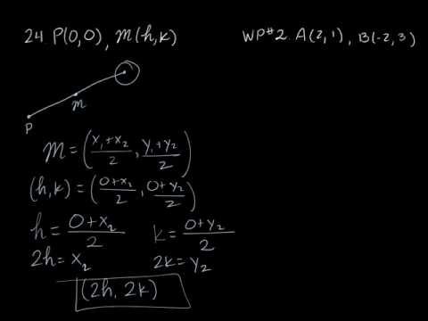 Distance/Midpoint Formulas and Circles