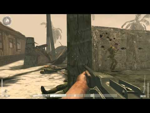 14. Medal of Honor: Pacific Assault - Realistic Difficulty Walkthrough - Tarawa: Buildings Clear