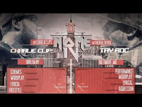 CHARLIE CLIPS VS TAY ROC  SMACK/ URL