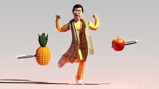 Pen Pineapple Apple Pen 3D - PPAP 3D Animation