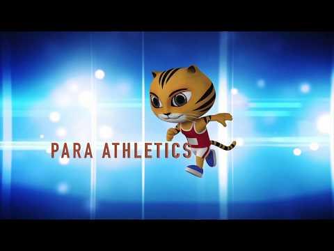 9th ASEAN Para Games | Para Athletics Highlights | Day 2 - 19th September (Part 1)