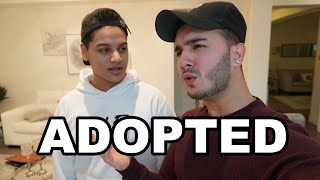 MY PARENTS ADOPTED MY BROTHER **SAD**