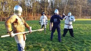 Medieval Combat Society Jan : 2 vs 1