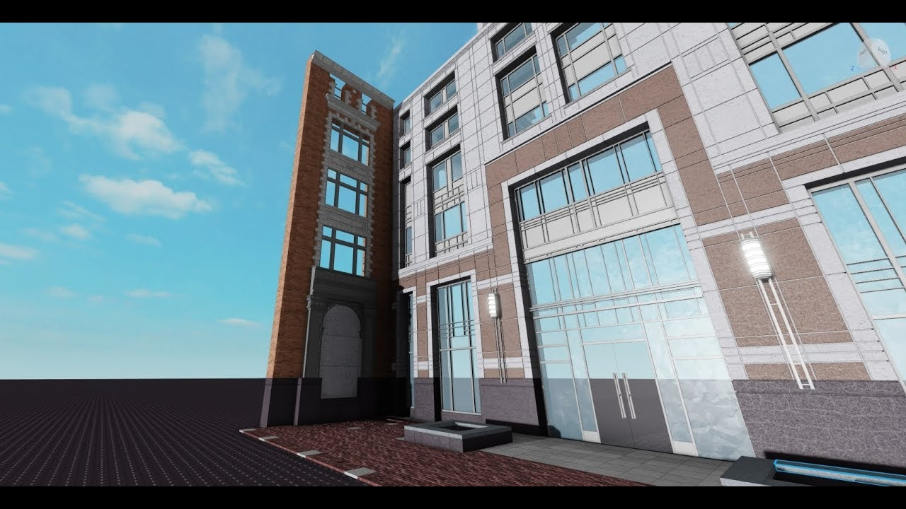 Building the State Street Financial Center in Roblox (Part 7)