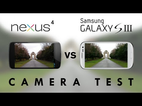 Nexus 4 vs Galaxy S3 - Camera Test